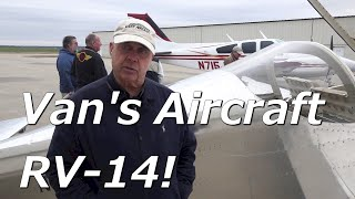 RV Aircraft Video - Richard Wingfields RV-14 from Van's Aircraft