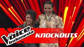 Video Kim vs Rambu | Knockouts | The Voice Indonesia GTV 2018 MP3, 3GP, MP4, WEBM, AVI, FLV September 2019