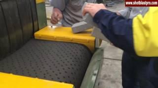 Concrete Blocks Shot Blasting Machine youtube video