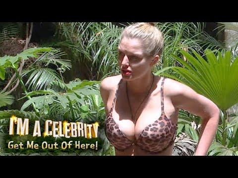 Helen Flanagan's Boobs Amaze The Camp | I'm A Celebrity... Get Me Out Of Here!
