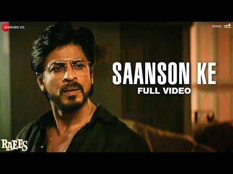 Video Saanson Ke - Full Video | Raees | Shah Rukh Khan & Mahira Khan | KK | Aheer for JAM8 download in MP3, 3GP, MP4, WEBM, AVI, FLV January 2017