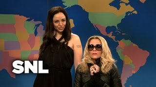 Update: Madonna and Angelina Jolie - Saturday Night Live