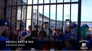 Russell Martin rencontre des fans québécois en Floride