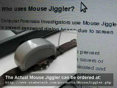 Poor Man's Mouse Jiggler