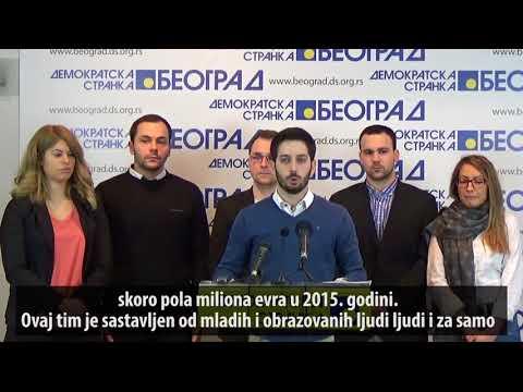 Антикорупцијски тим ДС поднео прву кривичну пријаву (27.01.2018.)