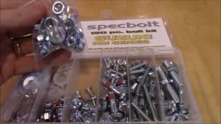 10. Suzuki RM 85 125 250 Spec Bolt Kit