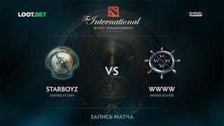 Starboyz vs WWWW, The International 2017 NA Qualifier