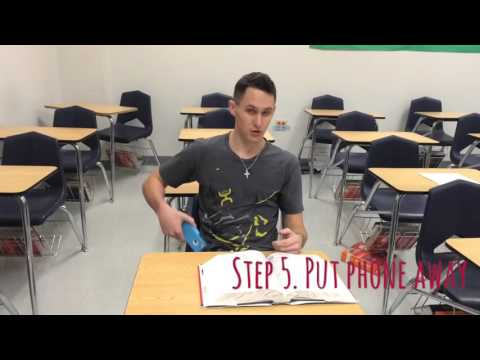 How to not get caught in class with your phone