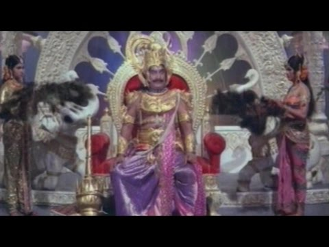 Sree Vinayaka Vijayamu Movie || Mushikasura Defeat Indra Action Scene || Krishnam Raju, Vanisree