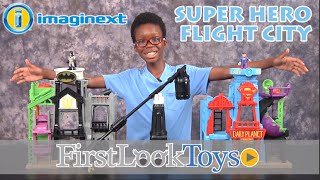 Imaginext Super Hero Flight City Unboxing