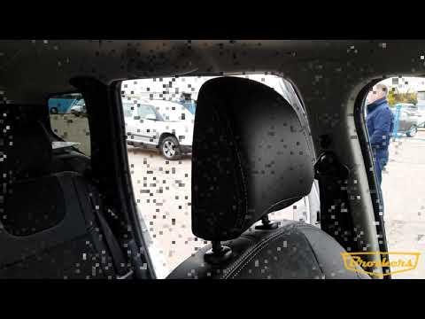 """Чехлы на Nissan Terrano 3, серии """"Alcantara"""" - серая строчка"""