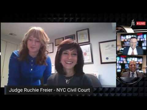 """Judge Rachel Freier interview about """"Unorthodox"""" Movie"""