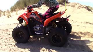 9. Kymco Mongoose 90cc ATV at Oregon Dunes