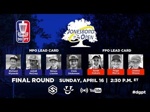 Pro Tour: Jonesboro Open - FINAL Round 4 LIVE