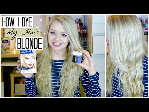 How I Dye My Hair Blonde (+ using Coconut Oil!) ♡ | sophdoesnails