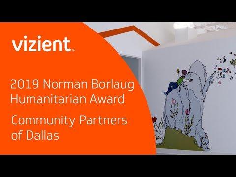 Vizient Awards Community Partners of Dallas 2019 Norman Borlaug Humanitarian Award