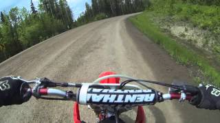 7. Ride on the crf150r