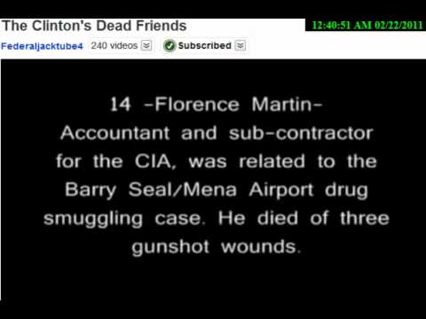Are you Clinton's Friend?… then you're DEAD!