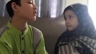 Alwi Assegaf Sholawat Roqqotaaina (Assalamu 'alaika Ya Rosulallah) with Aminah Assegaf #SiblingGoals