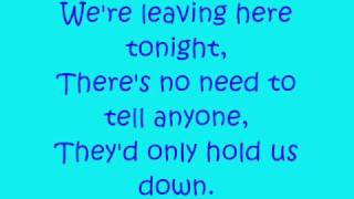 Evanescence- Anywhere with lyrics.