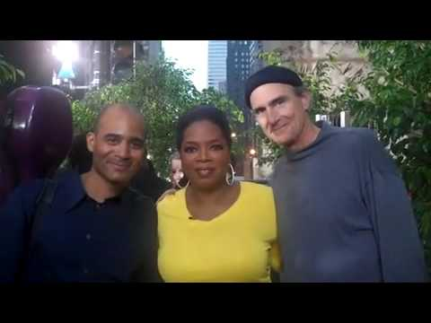 Backstage with Oprah