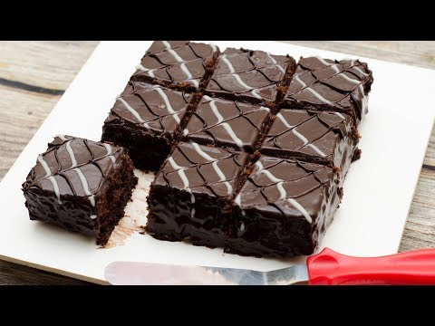 CHOCOLATE BROWNIES l EGGLESS & WITHOUT OVEN