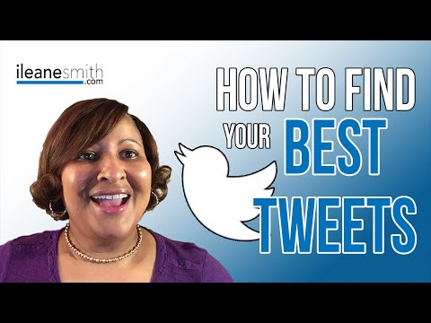 Watch 'How To Find and ReTweet Your Best Tweets in Buffer'