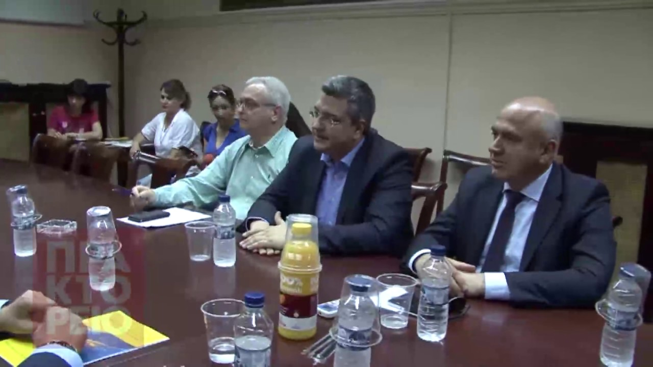 Σύσκεψη των τεσσάρων Περιφερειαρχών της Βόρειας Ελλάδας για τα διόδια της Εγνατίας Οδού