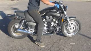 2. 1992 YAMAHA VMAX 1200 VMX1200 MOTOR AND PARTS FOR SALE ON BAY