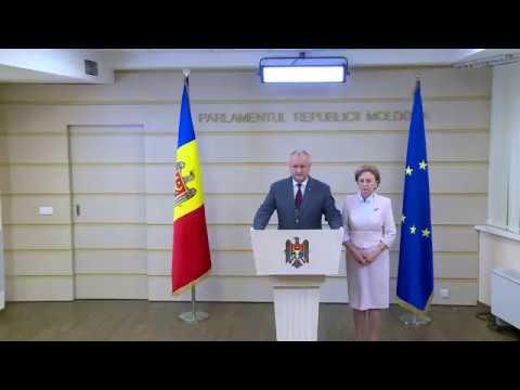Игорь Додон поздравил народ Молдовы с победой над узурпаторами
