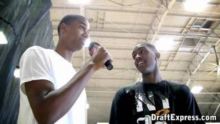 Hassan Whiteside & Quincy Miller - DraftExpress - 2010 Boost Mobile Elite 24