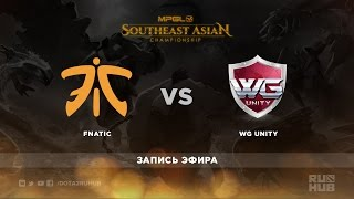 Fnatic vs WGU, game 1