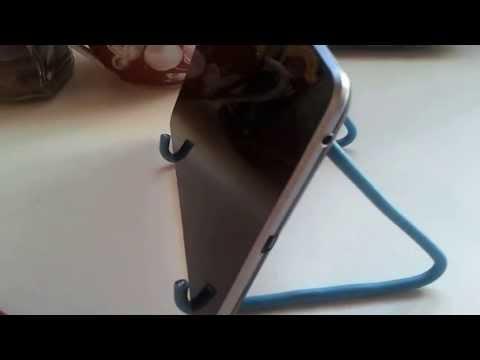 Самодельная подставка для планшета своими