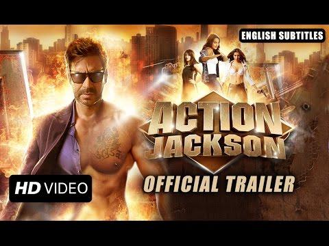 Action Jackson (Official Trailer With English Subtitles)   Ajay Devgn & Sonakshi Sinha