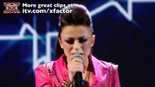 Cher Lloyd sings Empire State of Mind - The X Factor Live show 5 - itv.com/xfactor