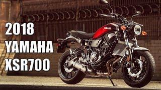 8. 2018 Yamaha XSR700  in detail eicma 2017