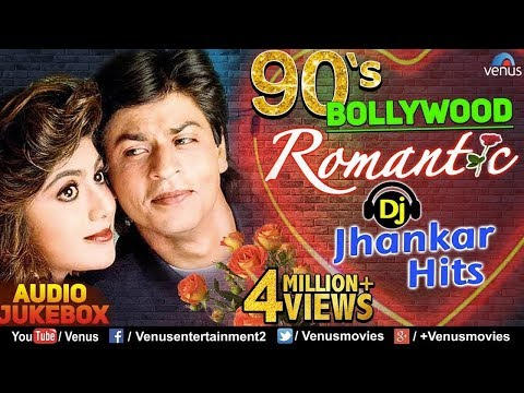 Download 90's Bollywood Romantic | DJ JHANKAR HITS | Best Bollywood Romantic Songs | JUKEBOX HD Mp4 3GP Video and MP3