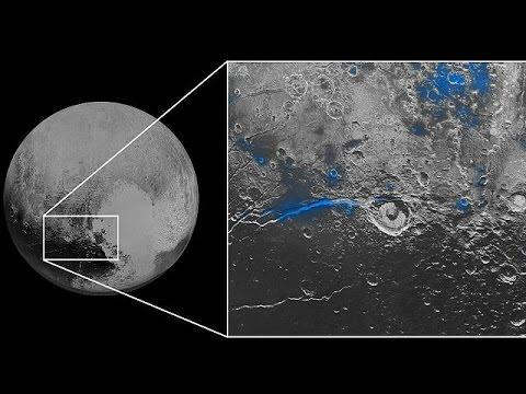 Μπλε ατμόσφαιρα και κόκκινο παγωμένο νερό ανακάλυψαν στον Πλούτωνα
