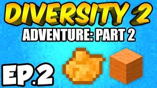 Minecraft: Diversity 2 Ep.2 - ORANGE DIMENSION!!! (Diversity 2 Adventure)