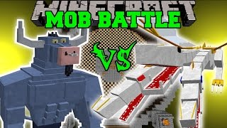IRON WILL VS THE KING - Minecraft Mob Battles - Minecraft Mods