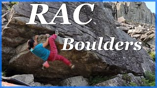 RAC Bouldering in Snowdonia by The Climbing Nomads
