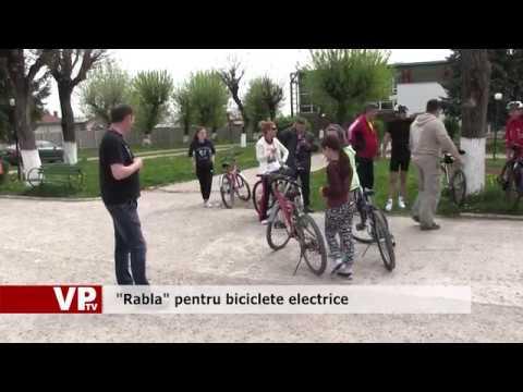 """""""Rabla"""" pentru biciclete electrice"""