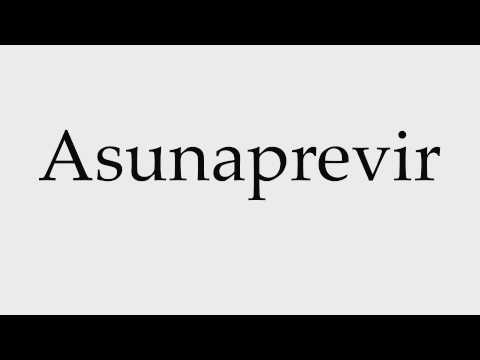 How to Pronounce Asunaprevir