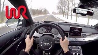 6. 2015 Audi S8 4.0T Quattro - WR TV POV Test Drive