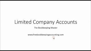 Understanding Limited Company Accounts