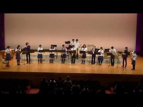 第47回伊都地方吹奏楽祭 初芝橋本中学校高等学校吹奏楽部 「ラジオ体操第一」他