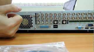 Видео. Видеообзор гибридного регистратора DH-DVR1604HF-U