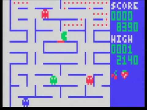 Fairchild Channel F Videocart 27 (homebrew): Pac-Man