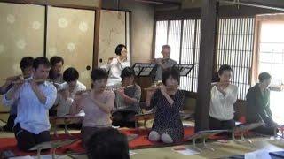 犬山篠笛クラブまちかどコンサート