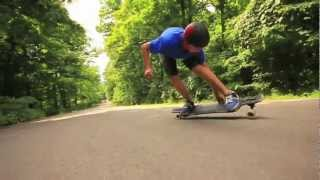 Longboarding on the Drop Freeride ala Ohio